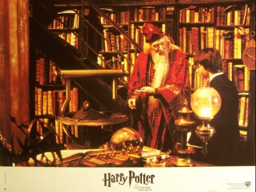 HARRY POTTER ET LA CHAMBRE DES SECRETS - HARRY POTTER AND THE CHAMBERS OF SECRETS
