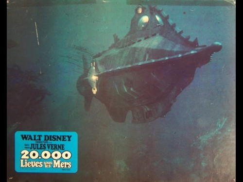 VINGT MILLE LIEUES SOUS LES MERS - LOT PHOTOS - Titre original : 20.000 LEAGUES UNDER THE SEA