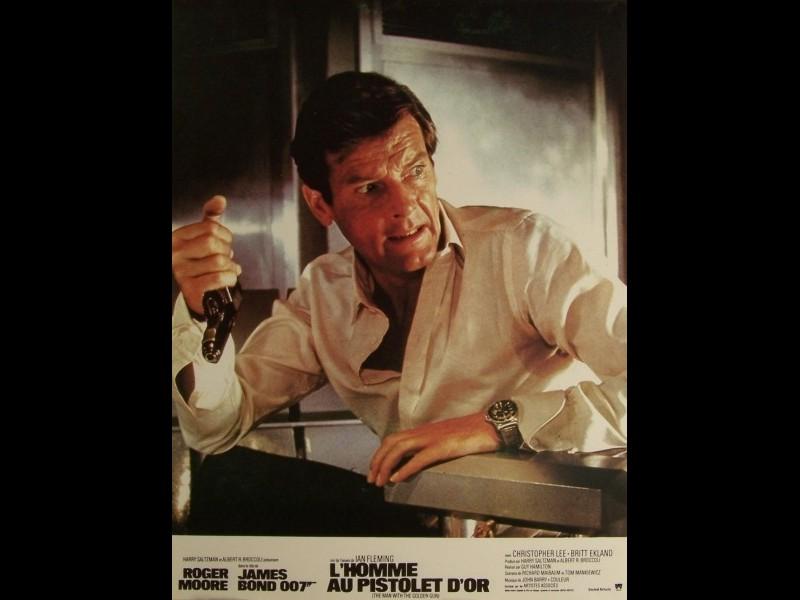 Photo du film HOMME AU PISTOLET D'OR (L') (JAMES BOND) - MAN WITH THE GOLDEN GUN (THE)