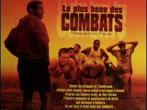 PLUS BEAU DES COMBATS (LE) - REMENBER THE TITANS