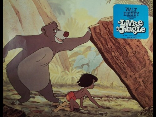 LIVRE DE LA JUNGLE (LE) - THE JUNGLE BOOK