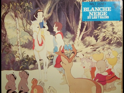 BLANCHE NEIGE ET LES 7 NAINS - titre original : SNOW WHITE AND THE SEVEN DWARFS