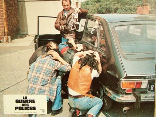 LA GUERRE DES POLICES -LOT PHOTOS -