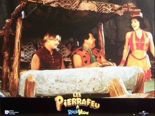 LES PIERRAFEU A ROCK VEGAS - Titre original : THE FLINTSTONES IN VIVA ROCK
