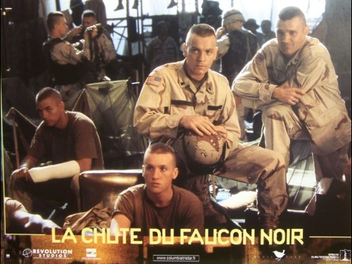 LA CHUTE DU FAUCON NOIR- LOT PHOTOS - Titre original : BLACK HAWK DOWN