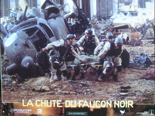 LA CHUTE DU FAUCON NOIR- Titre original : BLACK HAWK DOWN