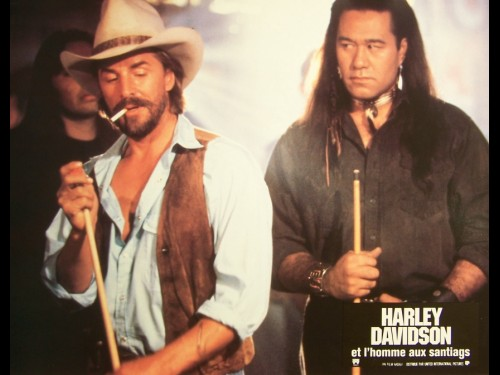 HARLEY DAVIDSON ET L'HOMME AUX SANTIAGS - Titre original : HARLEY DAVIDSON AND THE MALBORO MAN
