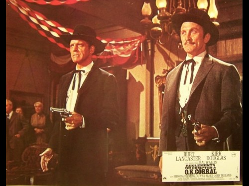 REGLEMENTS DE COMPTE A O.K. CORRAL - GUNFIGHT AT THE O.K. CORRAL