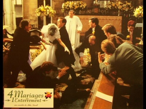 4 MARIAGES ET UN ENTERREMENT - FOUR WEDDINGS AND A FUNERAL