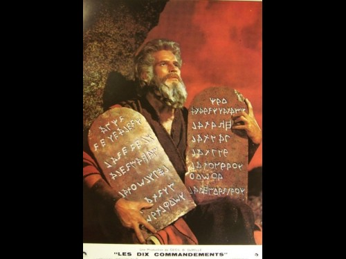 DIX COMMANDEMENTS (LES) - THE TEN COMMANDMENTS