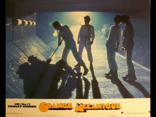 ORANGE MECANIQUE - A CLOCKWORK ORANGE