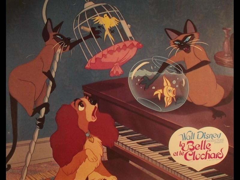 Photo du film BELLE ET LE CLOCHARD (LA) - LADY AND THE TRAMP