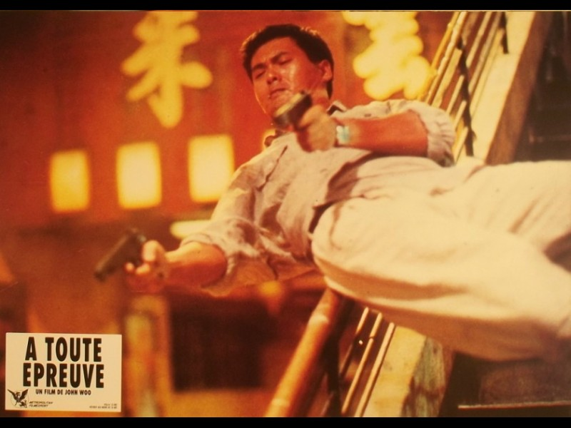 Photo du film A TOUTE EPREUVE - HARD BOILED