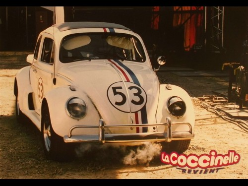 COCCINELLE REVIENT (LA) - HERBIE FULLY LOADED