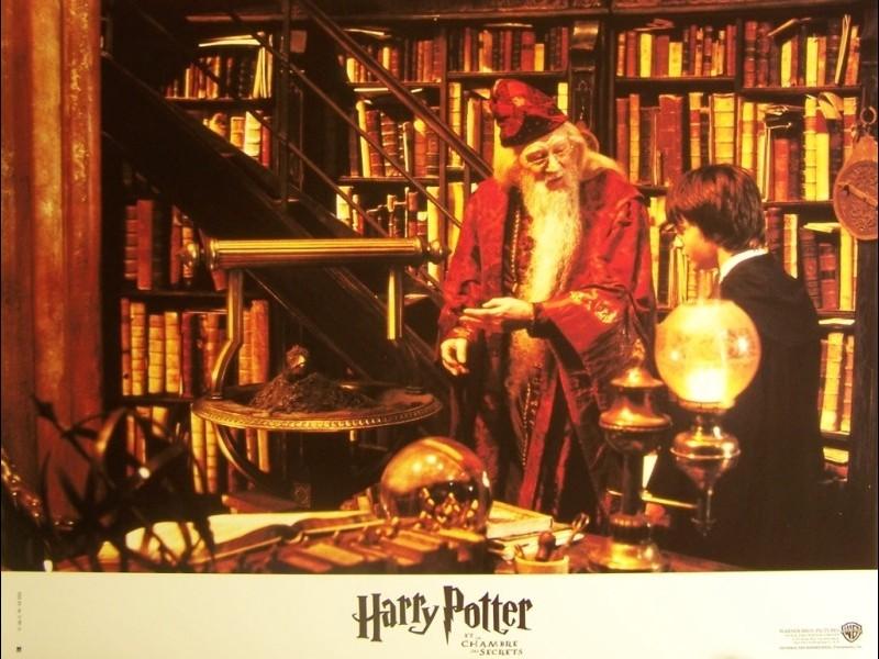 Photo du film HARRY POTTER ET LA CHAMBRE DES SECRETS - HARRY POTTER AND THE CHAMBERS OF SECRETS