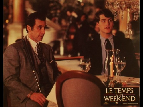 TEMPS D'UN WEEK END (LE) - SCENT OF A WOMAN