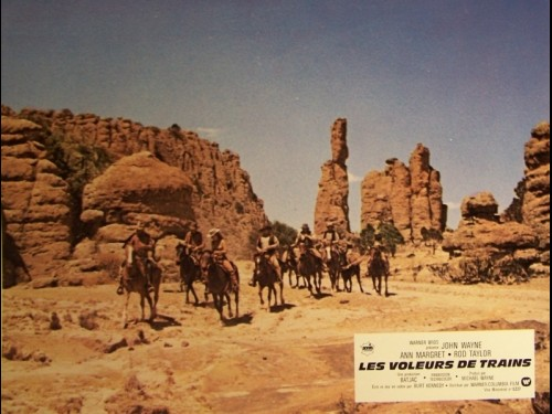 VOLEURS DE TRAINS (LES) - THE TRAIN ROBBERS