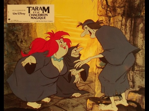 TARAM ET LE CHAUDRON MAGIQUE - THE BLACK CAULDRON