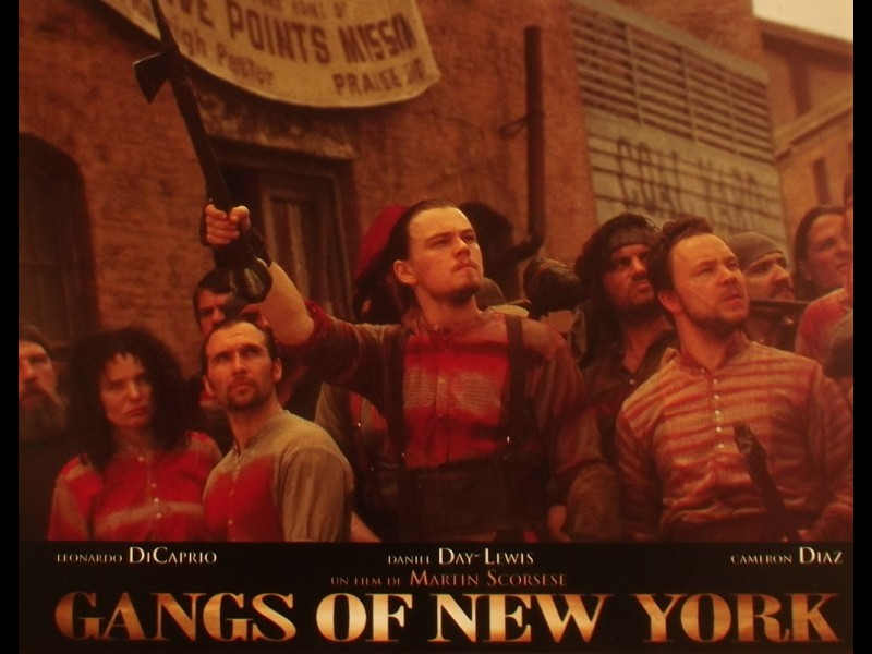 Photo du film GANGS OF NEW YORK