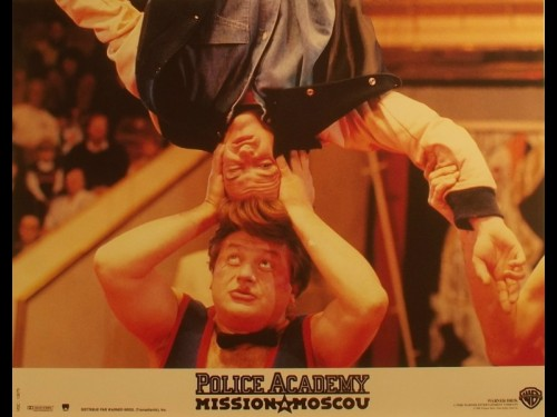 POLICE ACADEMY -MISSION MOSCOU-