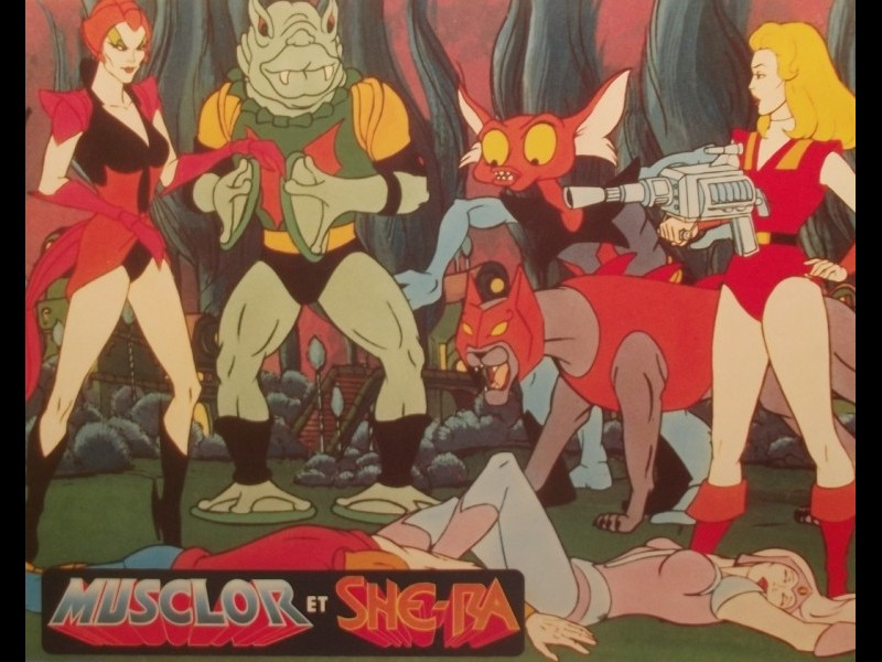 Photo du film MUSCLOR ET SHE-RA - LE SECRET DE L'EPÉE - - HE-MAN AND SHE-RA : SECRET OF THE SWORD